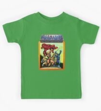 He-Man Masters of the Universe Battle Scene Kids Tee