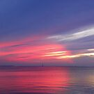 Door County Sunset Reflections by mussermd