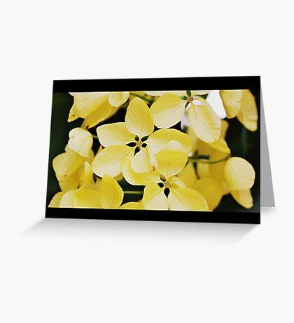 Summer Yellow Greeting Card