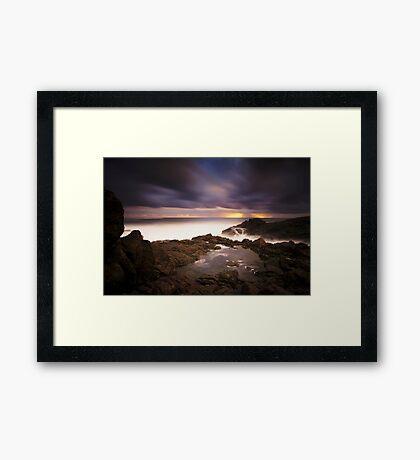 Hastings Point Sunrise Framed Print
