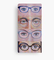 Four Eyes Metal Print