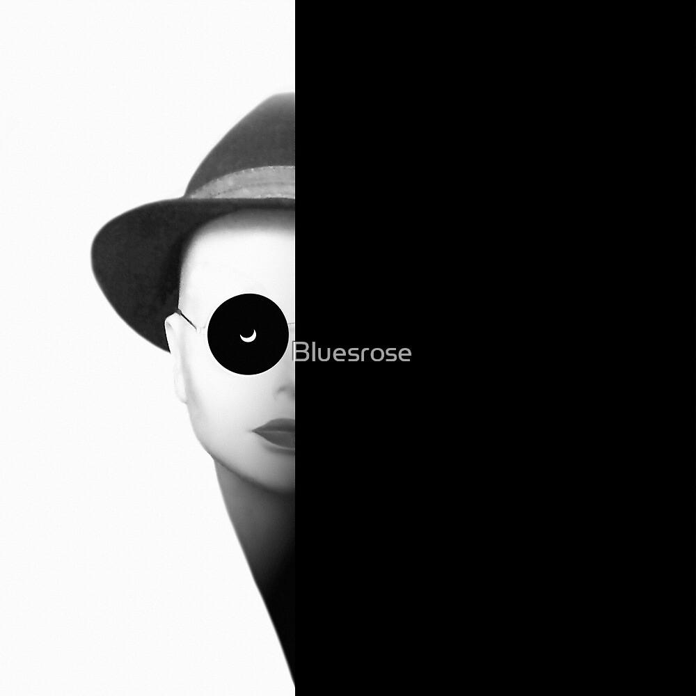 Half moon woman by Bluesrose
