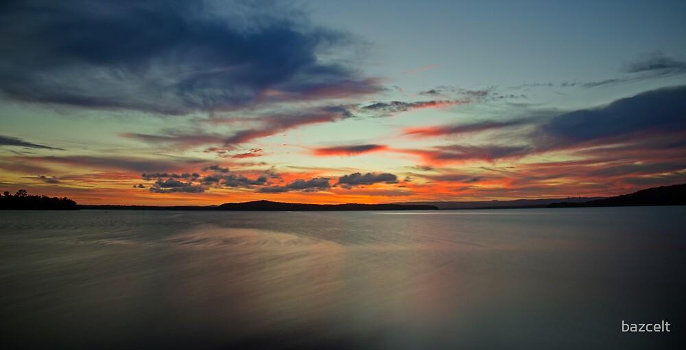 Swansea Sunset zones #2 by bazcelt