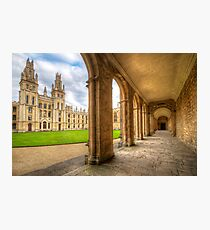 Oxford University - All Souls College 2.0 Photographic Print