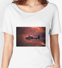 Helicopter  Women's Relaxed Fit T-Shirt