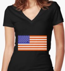 Universal Unbranding - Barack Obama Women's Fitted V-Neck T-Shirt