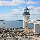 Marshall Point Light by Jack Ryan
