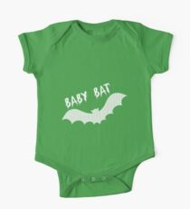 Baby Bat - Kids One Piece - Short Sleeve