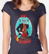 The Rooster  (BIG IMG)  Women's Fitted Scoop T-Shirt