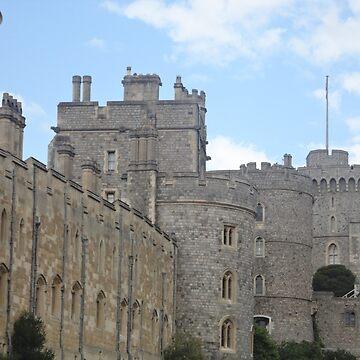 Windsor Castle, England by facingthewindow