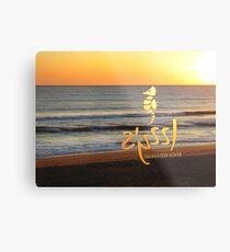 Beach Bar. Metal Print