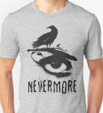 Nevermore - Edgar Allan Poe Inspired Design - The Raven Nevermore Unisex T-Shirt