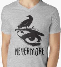 Nevermore - Edgar Allan Poe Inspired Design - The Raven Nevermore Men's V-Neck T-Shirt