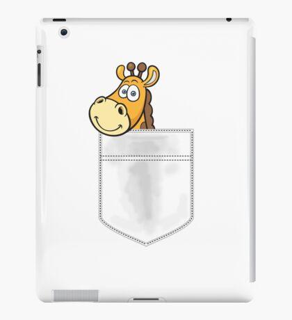 Pocket Giraffe iPad Case/Skin