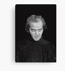 Jack Nicholson (Jack Torrance) The Shining poster Canvas Print