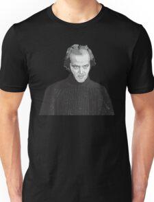 Jack Nicholson (Jack Torrance) The Shining poster Unisex T-Shirt