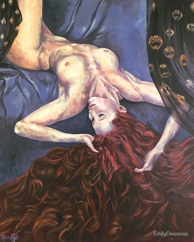 My Danaë Nude by EmilyDewsnap