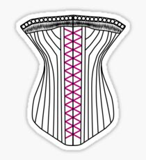Sexy Corset T-Shirt Sticker