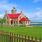 Old Mackinac Point Light Station by Jack Ryan