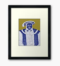 Lady Trouble Framed Print