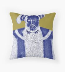 Lady Trouble Throw Pillow