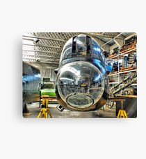 In The Workshop - HDR Canvas Print