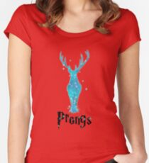 Prongs Women's Fitted Scoop T-Shirt