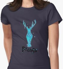 Prongs Womens Fitted T-Shirt