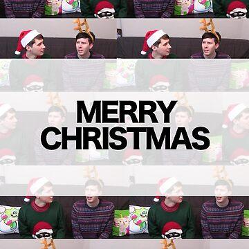 Merry Christmas Phan Card by ThePhanBible