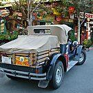 """ Stopping at Baja Cantina "" 1925 Buick Roadster by Gail Jones"