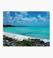 Carribean Blue Photographic Print