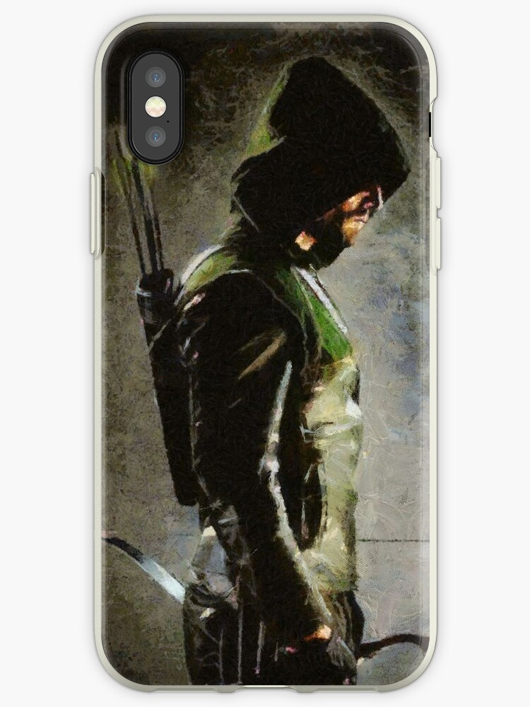 'Arrow TV Show Ipod or Iphone Case' iPhone Case by Elizabeth Coats