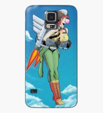 Bombshell Hawkgirl Case/Skin for Samsung Galaxy