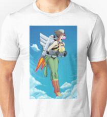 Bombshell Hawkgirl Unisex T-Shirt