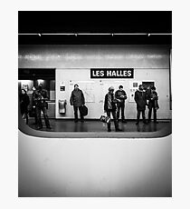 Paris Signature Series Metro 4/15 Photographic Print