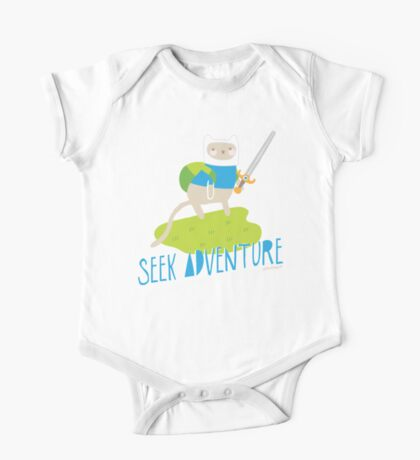 """Seek Adventure"" Kitty Kids Clothes"
