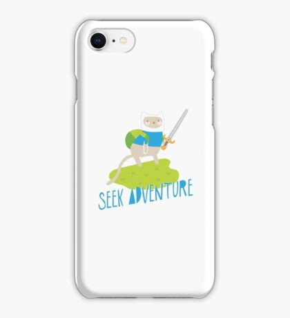 """Seek Adventure"" Kitty iPhone Case/Skin"