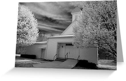 Spring Church by Verna Boucher Turner