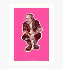 Punk Nine Art Print