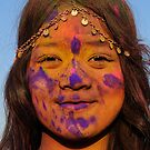 Los Angeles Holy Festival of Colors  by Tom-Sky