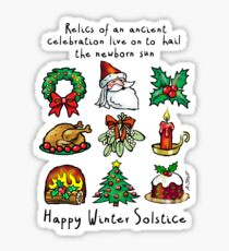 Winter Solstice Relics Sticker