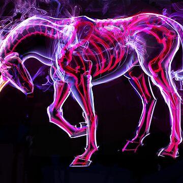 Gastly Unicorn by ohhaleyeah
