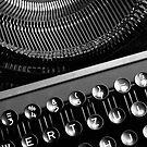 Typewriter 2 by Falko Follert