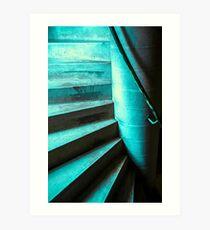 Stair Art Print