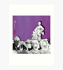 Cibeles a Color Art Print