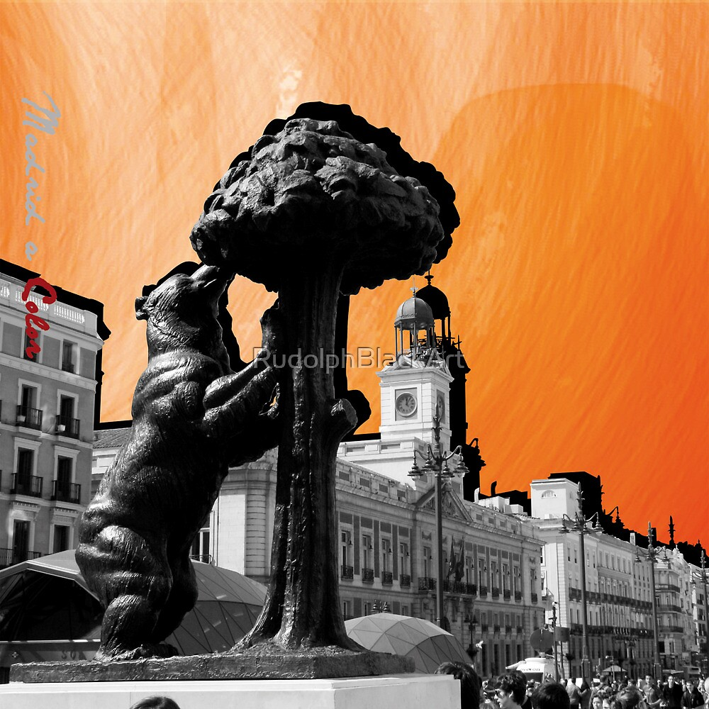 Puerta del Sol a Color by RudolphBlackArt