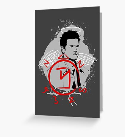 Castiel ♥ Greeting Card