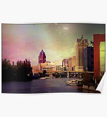 Downtown Milwaukee © Poster