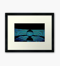 Abstract - Crystal Lines Framed Print