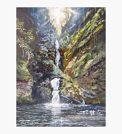 St Nectan's Glen Photographic Print